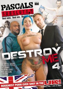 Destroy Me 4 front cover
